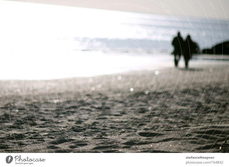 Sparkling Beach Mensch Natur Wasser Sonne Meer Strand Ferien & Urlaub & Reisen Ferne Erholung Gefühle Freiheit Glück Paar Sand Zufriedenheit