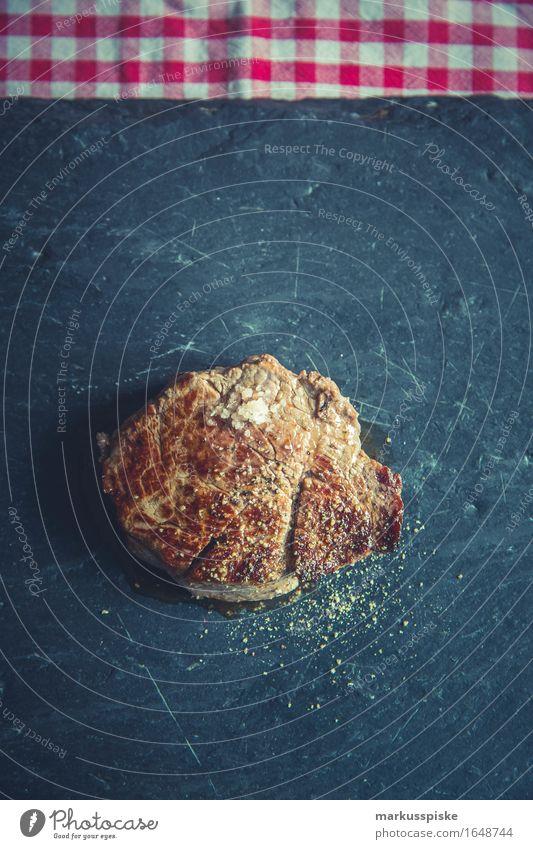 bio weiderind filet steak Lebensmittel Fleisch Steak meersalz Pfeffer Mittagessen Festessen Geschäftsessen Bioprodukte Lifestyle Reichtum Gesundheit