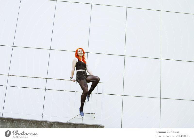 CityGirl_ID1649000 *800 Fotos* Wohooo :-) Lifestyle Stil feminin Junge Frau Jugendliche Erwachsene Mensch 13-18 Jahre 18-30 Jahre Bewegung Freizeit & Hobby