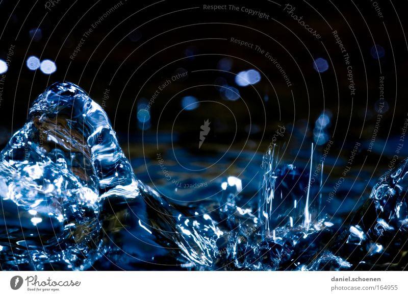 flüssig Natur Wasser Bewegung Wellen Wassertropfen Tropfen Surrealismus
