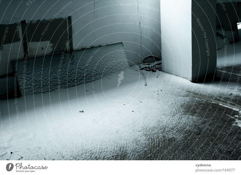Einfach mal reingeschneit Natur schön Winter ruhig Leben Schnee Wand Mauer Traurigkeit Zeit Wetter Raum Klima ästhetisch Wandel & Veränderung Vergänglichkeit
