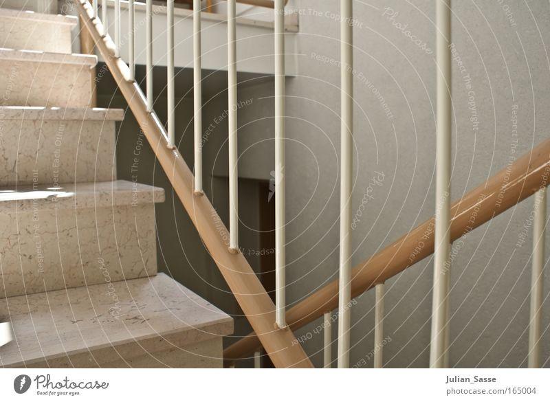 up and down Architektur Gebäude Zufriedenheit elegant Treppe ästhetisch Bauwerk Geländer Treppenhaus