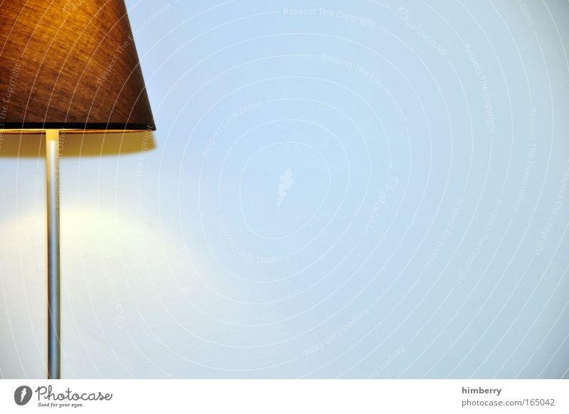 licht an Stil Lampe hell Hintergrundbild Design ästhetisch einfach Bildausschnitt Anschnitt Objektfotografie minimalistisch Lampenschirm Zimmerlampe Stehlampe