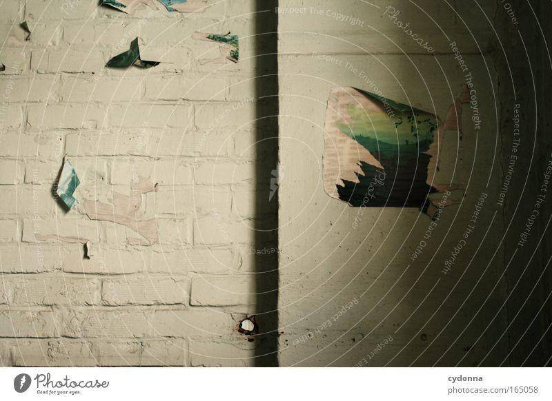Heimatliebe Farbfoto Innenaufnahme Detailaufnahme Menschenleer Textfreiraum links Textfreiraum unten Tag Schatten Zentralperspektive Ferne Freiheit