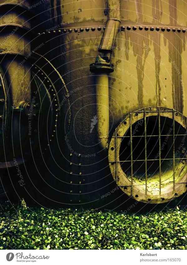 industrialism. Architektur Traurigkeit Metall Kunst Arbeit & Erwerbstätigkeit Fassade Design ästhetisch verrückt Zukunft Industrie Technik & Technologie