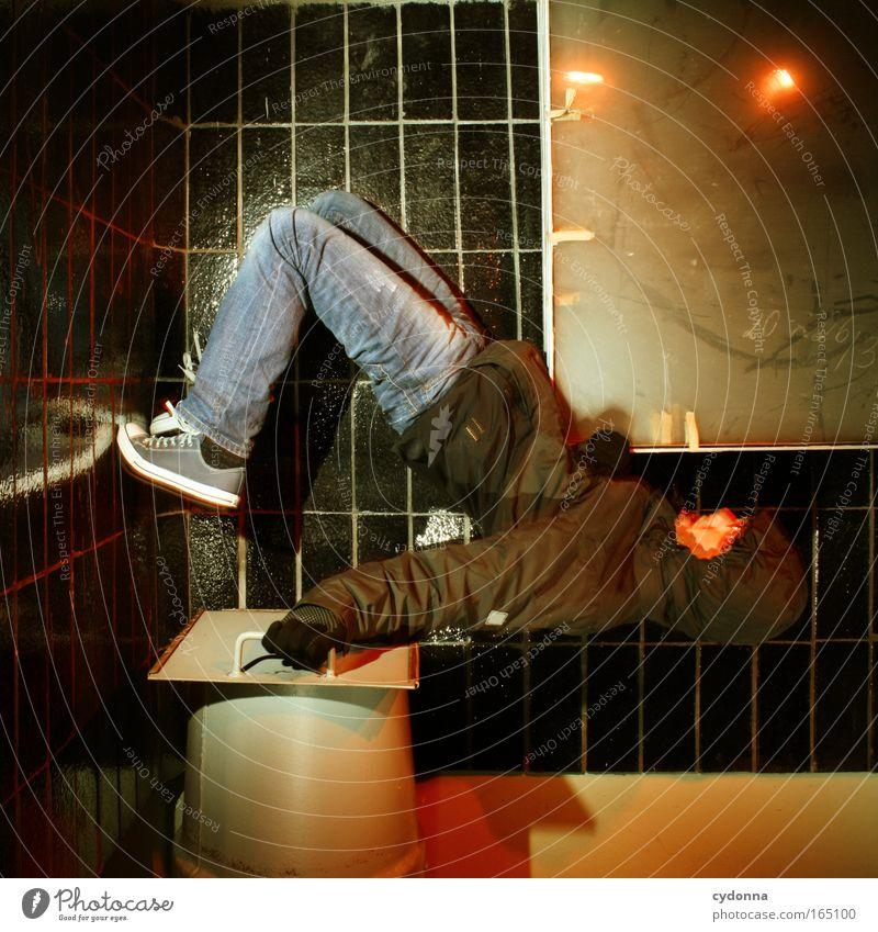 FLO BOX II Mensch Mann Jugendliche Freude Erwachsene Ferne Leben Wand Bewegung Mauer Zufriedenheit maskulin ästhetisch planen 18-30 Jahre Kommunizieren