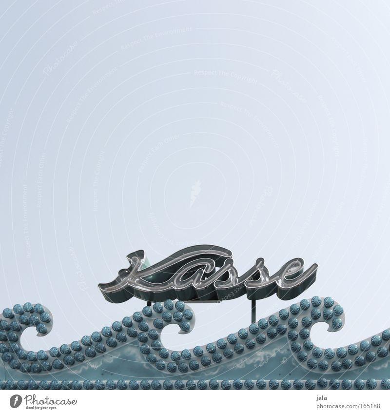cash till area II blau grau Freizeit & Hobby Schriftzeichen Bar Werbung Jahrmarkt Veranstaltung Glühbirne Kasse Leuchtreklame Cocktailbar