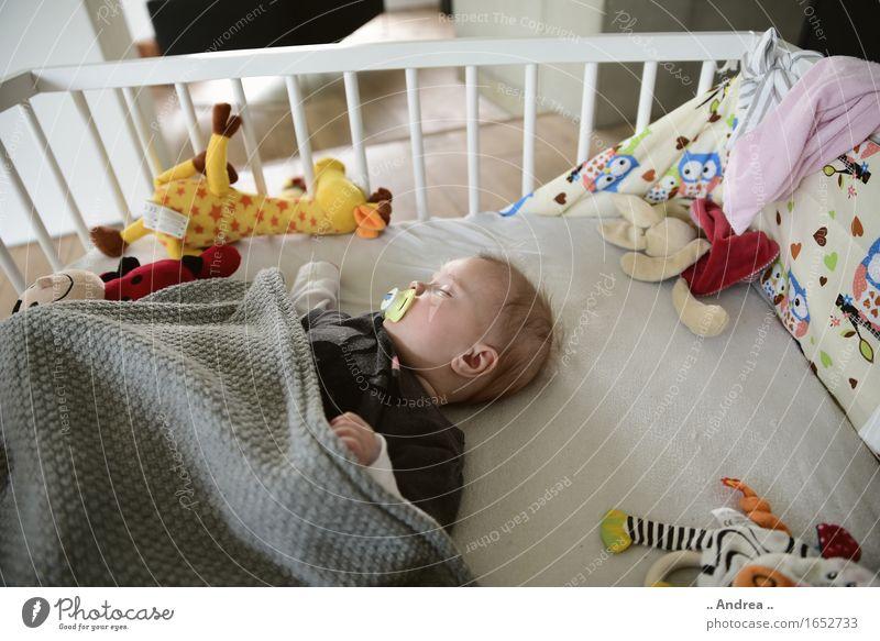 Seelenfrieden Mensch ruhig feminin Glück träumen Zufriedenheit liegen Baby schlafen 0-12 Monate ruhen Schnuller ruhend Gute Nacht
