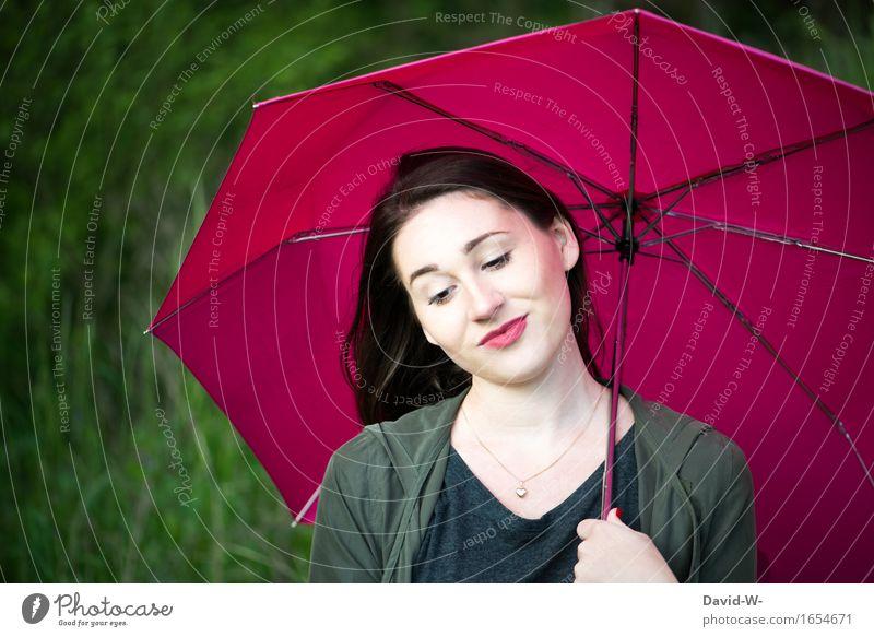 mit schirm, charme... und eine saftige Melone wäre jetzt schön Frau Mensch Ferien & Urlaub & Reisen Natur Jugendliche Junge Frau Gesicht Lifestyle Erwachsene