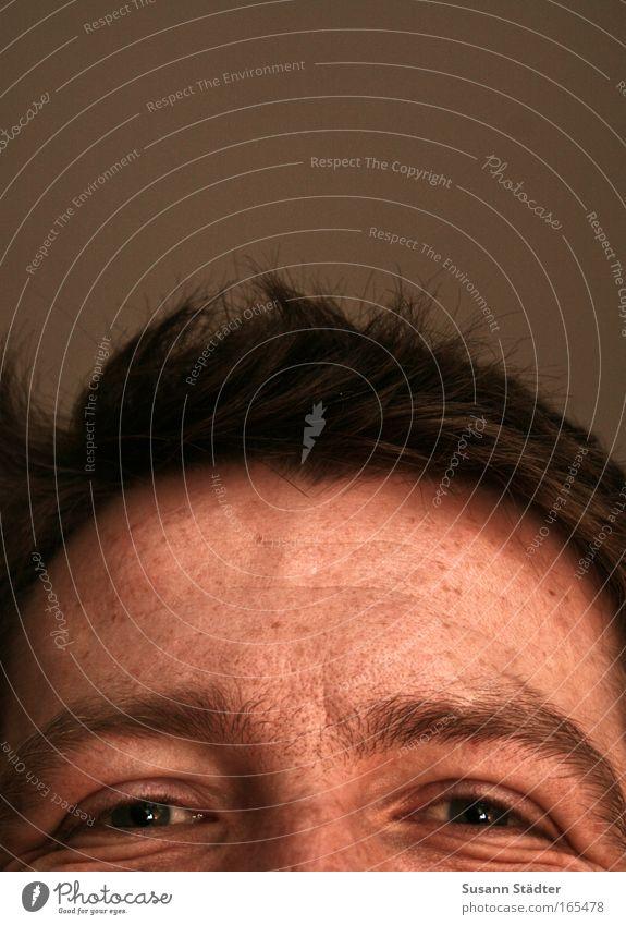 Honigkuchen Mann Jugendliche alt Freude Gesicht Auge Leben Gefühle Glück lachen Haare & Frisuren Kopf Denken Zufriedenheit Haut Erwachsene