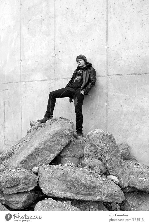 Rock & Roll Star Deluxe Mensch Jugendliche Freude Erwachsene maskulin Behaarung außergewöhnlich trinken einzigartig Jeanshose Rauchen 18-30 Jahre Jacke Jahrmarkt Rauschmittel