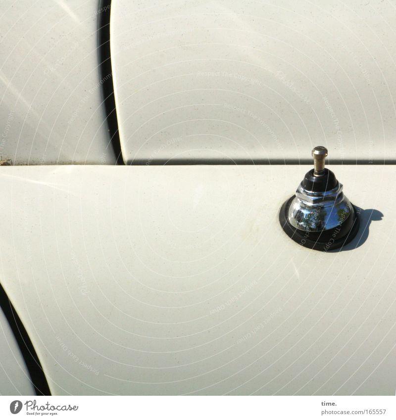 [HH09.1] - Raumschiff Orion Sonne Antenne PKW Oldtimer Lack weiß Chrom Stöpsel Pinökel Spalt Tür geschlossen KFZ Ausschnitt Gummi Halterung Radio Autoradio
