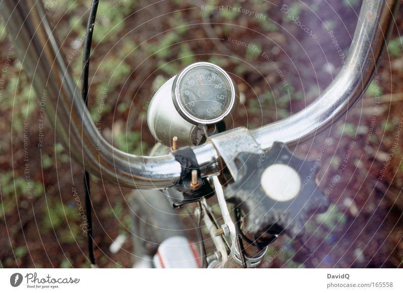 18° Reisetemperatur alt Metall Fahrrad fahren Stahl trashig Originalität Fahrradlenker Thermometer Klapprad