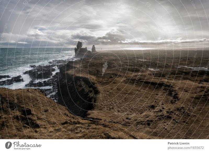 Snaefellsnes Penninsula Himmel Natur Ferien & Urlaub & Reisen Farbe schön Meer Landschaft Erholung Wolken Tier Strand Umwelt Leben Küste Erde träumen