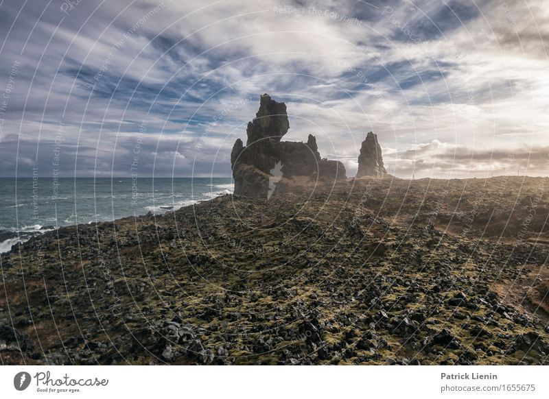 Alien World schön Leben Ferien & Urlaub & Reisen Tourismus Ausflug Abenteuer Ferne Freiheit Strand Meer Insel Wellen Umwelt Natur Landschaft Tier Erde Himmel