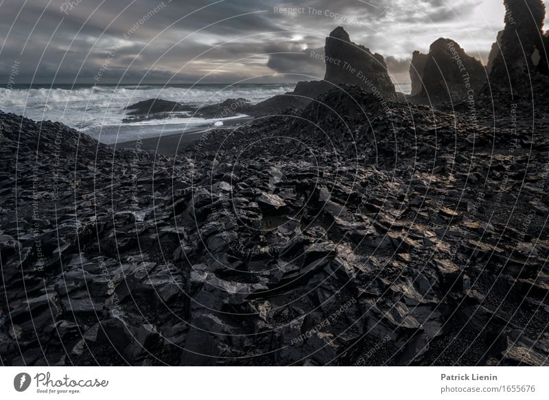 Dark Souls schön Leben Ferien & Urlaub & Reisen Abenteuer Strand Meer Insel Wellen Umwelt Natur Landschaft Tier Erde Himmel Wolken Klima Klimawandel Wetter