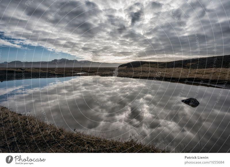 Swimming Pool Leben Zufriedenheit Sinnesorgane Erholung Ferien & Urlaub & Reisen Abenteuer Strand Meer Insel Wellen Umwelt Natur Landschaft Erde Himmel Wolken
