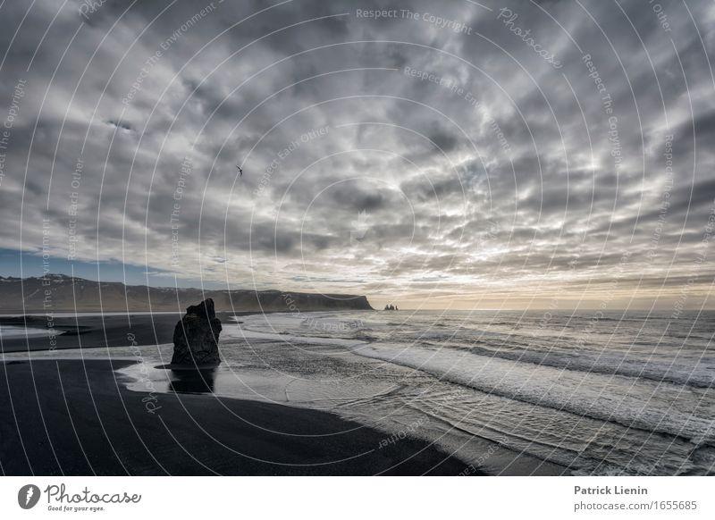 Weitwelt schön Leben Ferien & Urlaub & Reisen Abenteuer Strand Meer Insel Wellen Umwelt Natur Landschaft Erde Himmel Wolken Frühling Klima Klimawandel Wetter