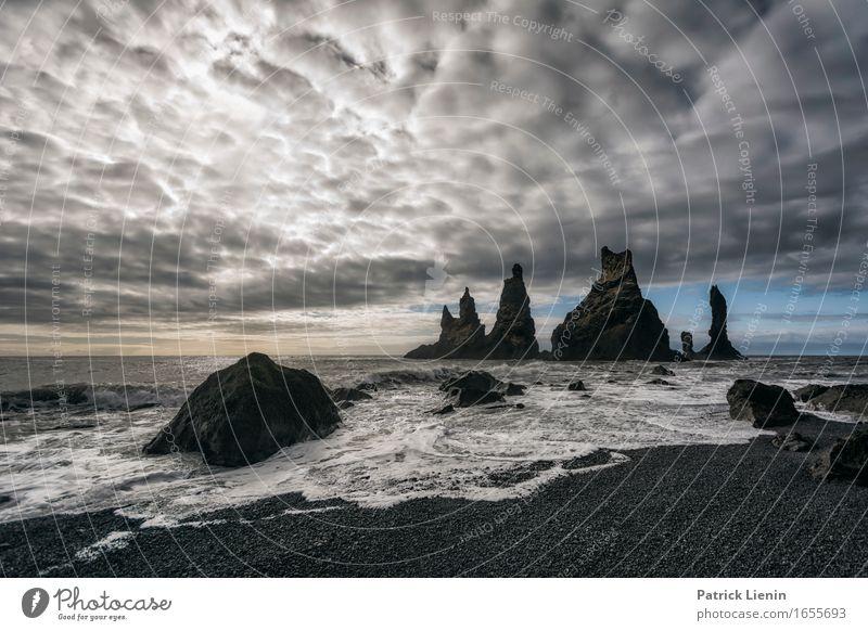 Another World Himmel Natur Ferien & Urlaub & Reisen schön Wasser Meer Landschaft Wolken Strand Berge u. Gebirge Umwelt Leben Gefühle Küste Erde Sand