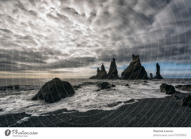 Another World schön Leben Ferien & Urlaub & Reisen Abenteuer Strand Meer Insel Wellen Umwelt Natur Landschaft Urelemente Erde Sand Luft Wasser Himmel Wolken