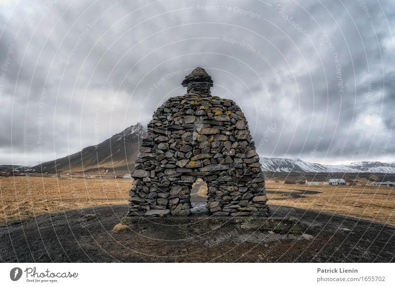 Bárður Snæfellsás Lifestyle Leben Wohlgefühl Zufriedenheit Sinnesorgane Ferien & Urlaub & Reisen Tourismus Ausflug Abenteuer Ferne Freiheit Umwelt Natur