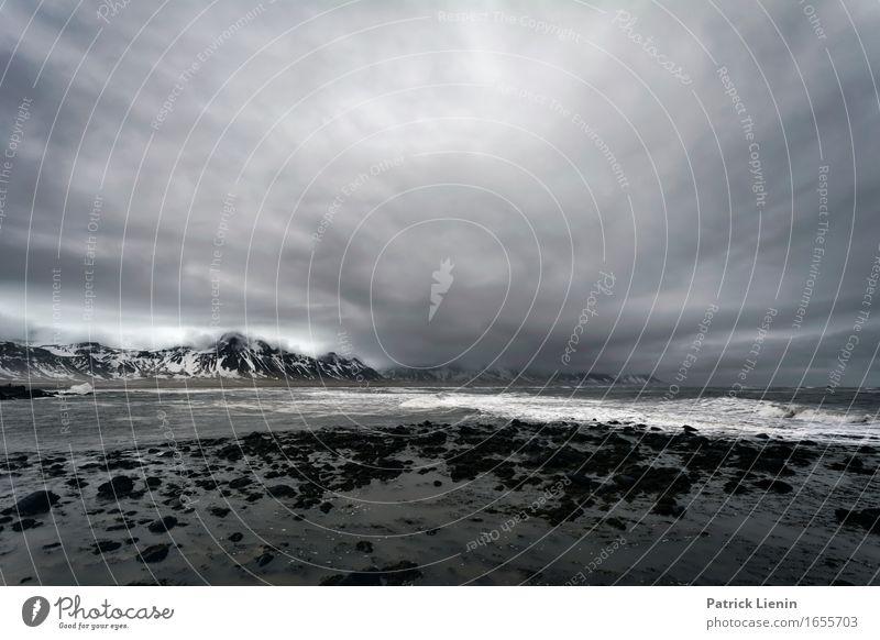 Wo Wolken den Ozean treffen Leben Ferien & Urlaub & Reisen Abenteuer Strand Meer Insel Winter Schnee Berge u. Gebirge Umwelt Natur Landschaft Urelemente Erde