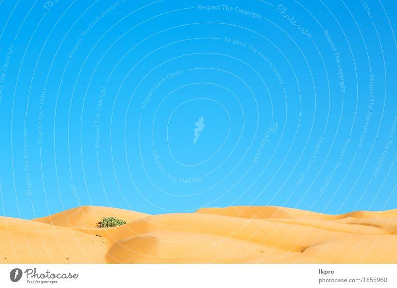 in oman alter wüste rub al khali Himmel Natur Ferien & Urlaub & Reisen Sommer schön weiß Sonne Landschaft Einsamkeit schwarz gelb grau Stein Sand Felsen