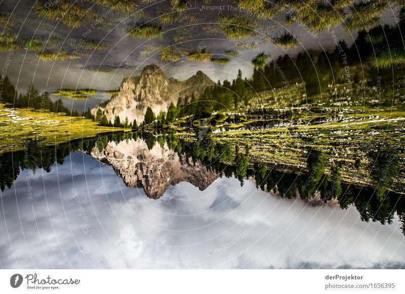 Doppelte Bergwelt Ferien & Urlaub & Reisen Tourismus Ausflug Abenteuer Ferne Freiheit Expedition Camping Berge u. Gebirge wandern Umwelt Natur Landschaft