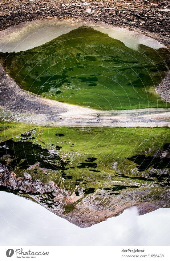 Grüne Dolomiten Ferien & Urlaub & Reisen Tourismus Ausflug Abenteuer Ferne Freiheit Berge u. Gebirge wandern Umwelt Natur Landschaft Pflanze Tier Wasser Sommer