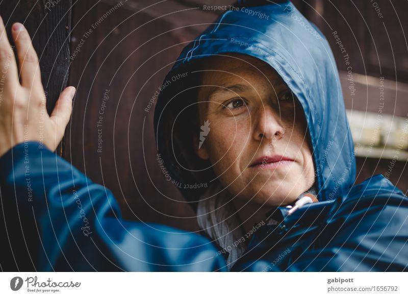 AST 9 | mairegen / regenmai Mensch Frau blau Sommer Farbe Erwachsene Leben natürlich feminin braun Regen wandern Ausflug Lächeln Klima Gewitter