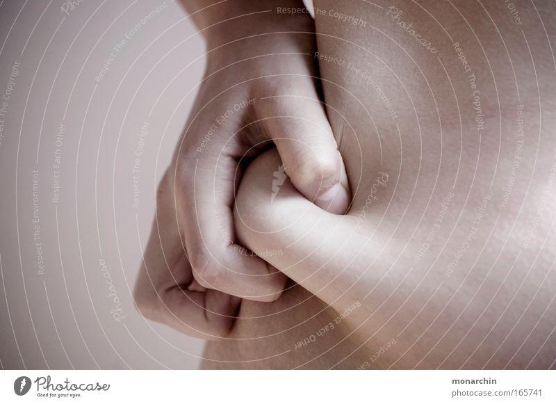 Ablehnung 3 Mensch Frau Hand weiß schön Erwachsene Ernährung feminin Körper Kindheit Haut ästhetisch beobachten Übergewicht Appetit & Hunger dick