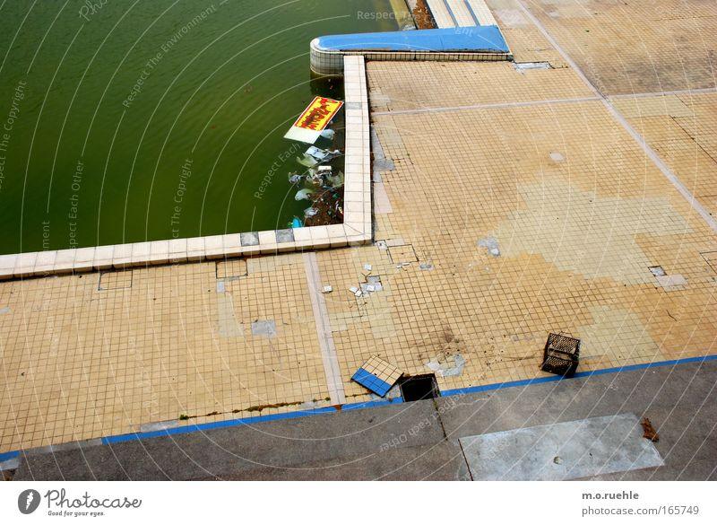 circusswims Wasser Stimmung Beton Schwimmbad stagnierend Sport Lyon
