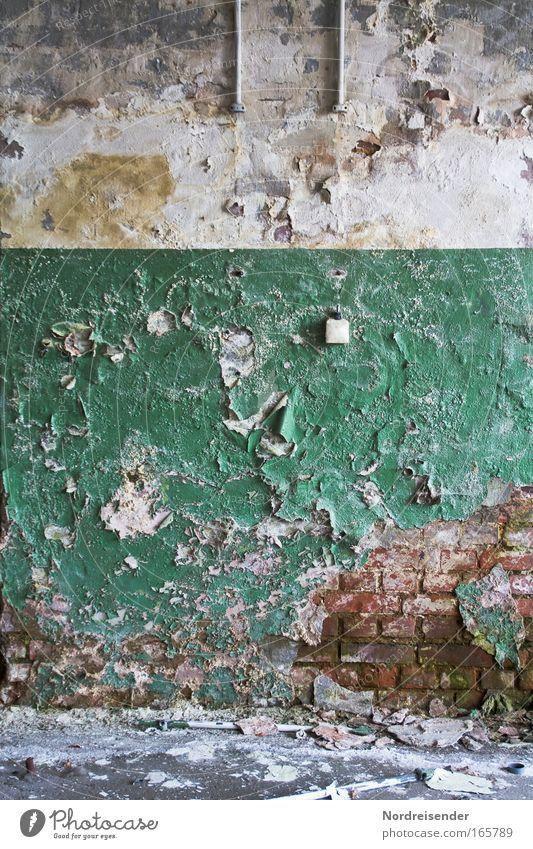 Katastrophanien schön alt dunkel kalt Wand Traurigkeit Mauer dreckig Architektur Umwelt Erfolg Fassade Lifestyle trist Fabrik