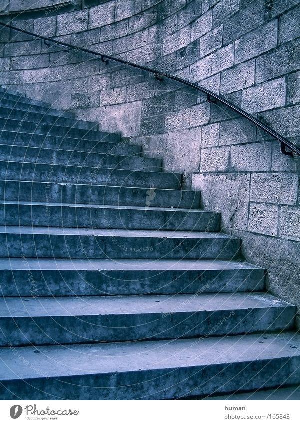 alt blau grau Stein Stimmung dreckig Architektur