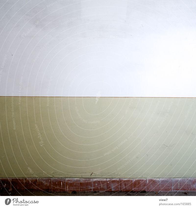 Zierstreifen schön alt Haus Einsamkeit Wand braun Raum elegant ästhetisch retro authentisch einfach Dekoration & Verzierung gut Sauberkeit Vergänglichkeit
