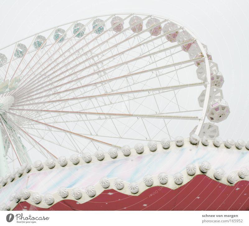 kirmes in welt Himmel Freude Jahrmarkt Glühbirne Riesenrad