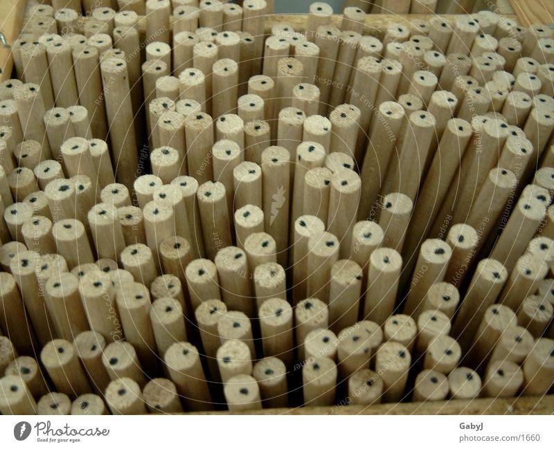 pünktchen_pünktchen Holz Holzstab Fächer Handwerk Punkt gefächert