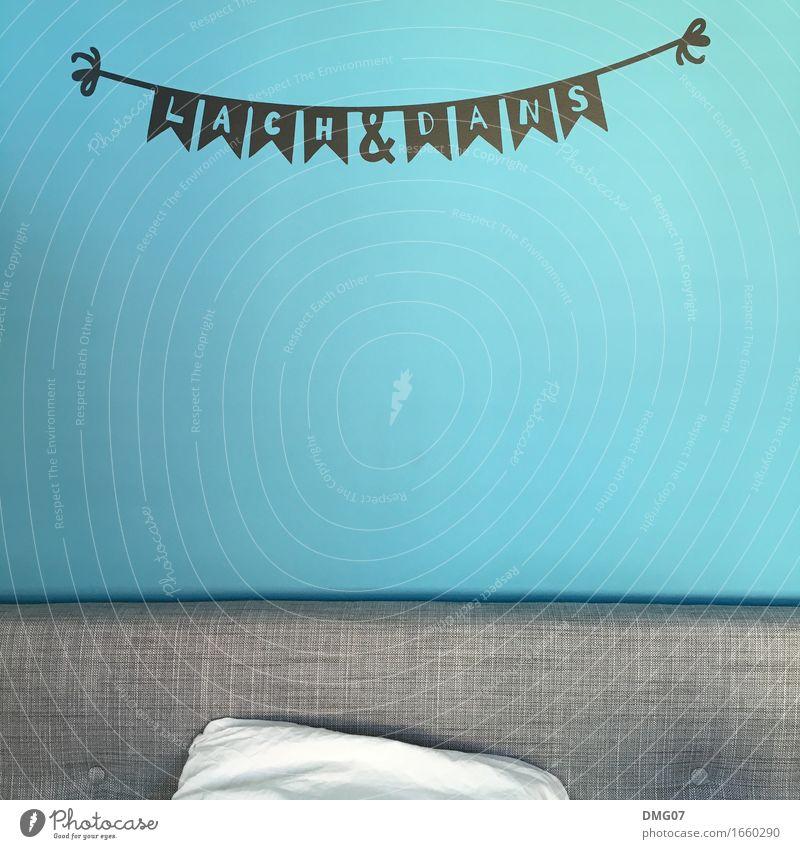 Lach & Dans Ferien & Urlaub & Reisen blau Sommer Wand Lifestyle Herbst Frühling Innenarchitektur Gefühle lachen Kunst Feste & Feiern Wohnung Häusliches Leben