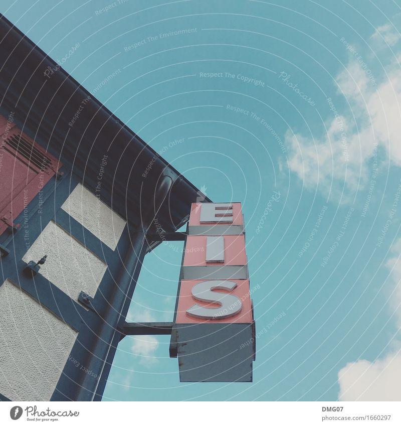 Eis Himmel Stadt Wolken Haus Architektur Wand Essen Lifestyle Gebäude Mauer Kunst Lebensmittel Fassade Ernährung Schriftzeichen Schilder & Markierungen