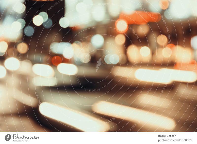 Stadt Ampeln Hintergrund blau Farbe schön rot schwarz Straße Lifestyle braun gehen orange Verkehr PKW leuchten modern retro