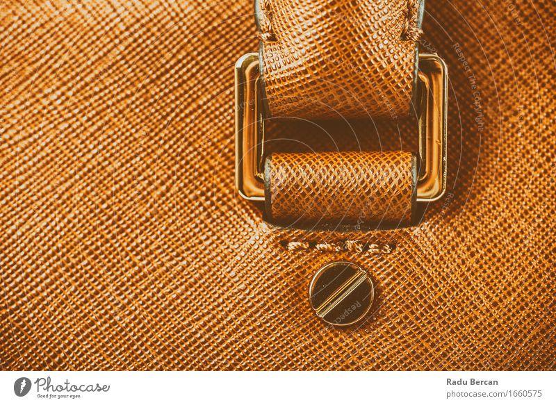 Brown-Leder-Frauen-Taschen-Nahaufnahme Farbe schön natürlich Lifestyle feminin Stil Mode braun Design elegant Erfolg Bekleidung Stoff Reichtum Accessoire