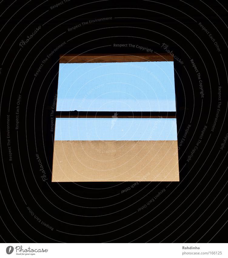 from inside to out blau schwarz Haus Ferne Fenster Architektur Gebäude Glas Energiewirtschaft ästhetisch leuchten rein Fensterscheibe Fensterrahmen
