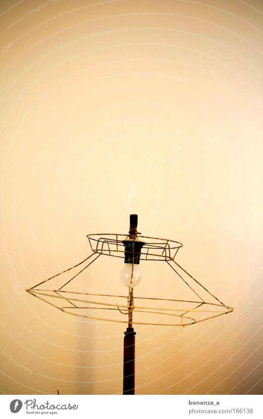 Schirmherr. Lampe braun Metall Kunst Design ästhetisch trist kaputt authentisch Dekoration & Verzierung einzigartig außergewöhnlich Innenarchitektur Zeichen