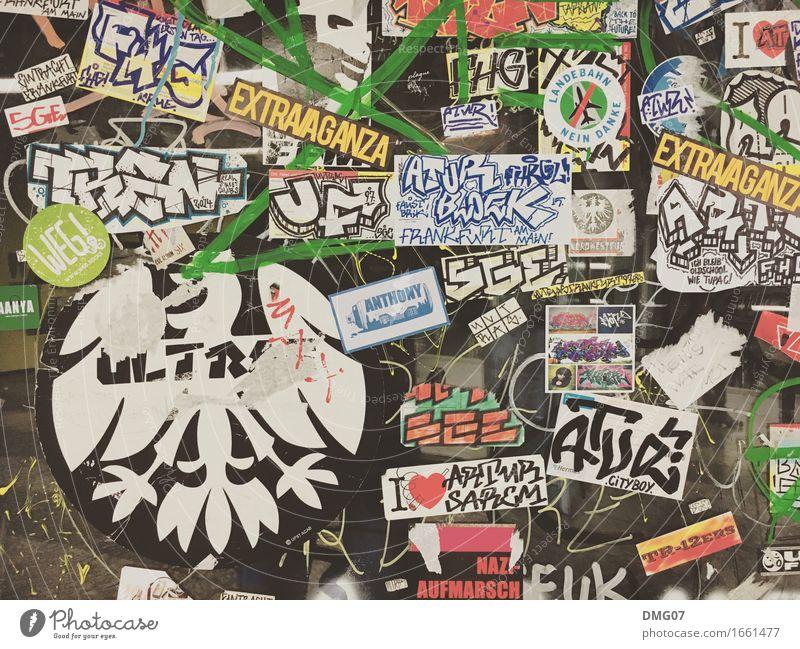 Aufkleber Freude Wand Graffiti Lifestyle Sport Mauer Kunst Feste & Feiern Party Schriftzeichen Musik Schilder & Markierungen Kultur Tanzen Fußball Jugendkultur