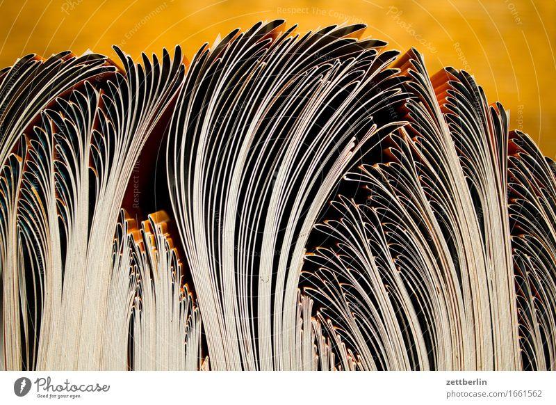 Gebrauchsgrafik Design Kommunizieren Buch Papier Grafik u. Illustration Information Schriftstück Menschenmenge Bogen Text gestalten Druck Schwung Einladung
