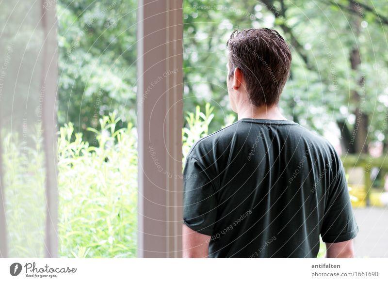 Aussicht Mensch Frau Natur Ferien & Urlaub & Reisen Sommer grün Baum Freude Erwachsene Umwelt Leben natürlich Garten Freundschaft maskulin Zufriedenheit
