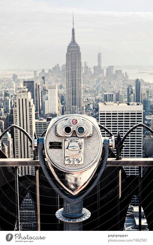alles im blick Stadt Haus Stein Wohnung Tourismus Häusliches Leben Büro Hochhaus kaufen USA Skyline Wahrzeichen Bankgebäude Sehenswürdigkeit Stadtzentrum