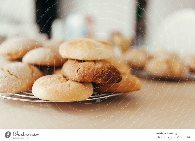 #314 / Frühstück Lebensmittel Teigwaren Backwaren Brötchen Ernährung Büffet Brunch Bioprodukte Duft Essen frisch Gesundheit lecker Vorfreude Dekadenz Erwartung