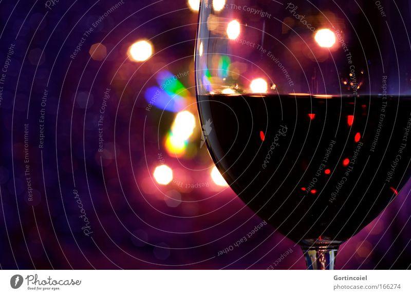 Red Wine Gefühle Feste & Feiern Stimmung glänzend Glas Getränk violett Wein Restaurant Reichtum Flair Nachtleben festlich Ernährung schimmern Lounge