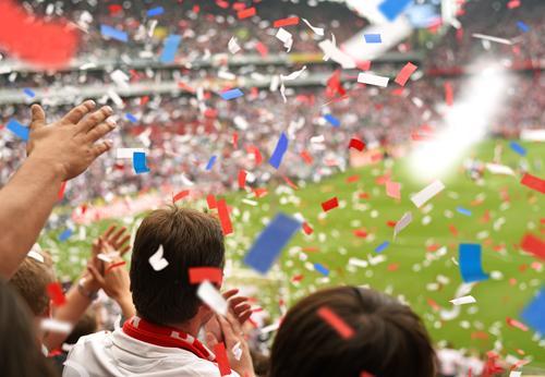 WM 2018 in Russland sportlich Feste & Feiern Sport Sportler Sportmannschaft Publikum Fan Hooligan Tribüne Sportveranstaltung Pokal Erfolg Sportstätten